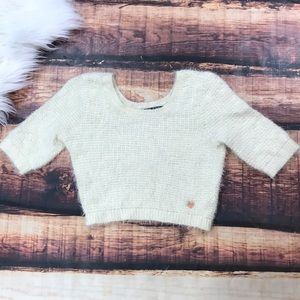 Kendall & Kylie Cropped Sweater ~ Furry Crop